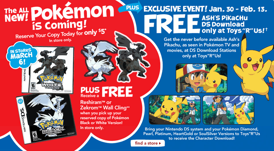 Pokemon Toys R Us