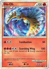 Shiny Ho-Oh from Call of Legends