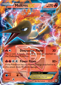 Moltres-EX from Plasma Storm