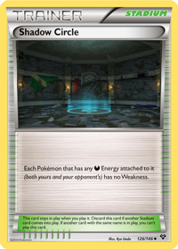 Shadow Circle from XY TCG set