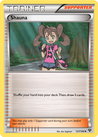 Shauna from XY TCG set