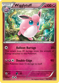 Wigglytuff from XY TCG set