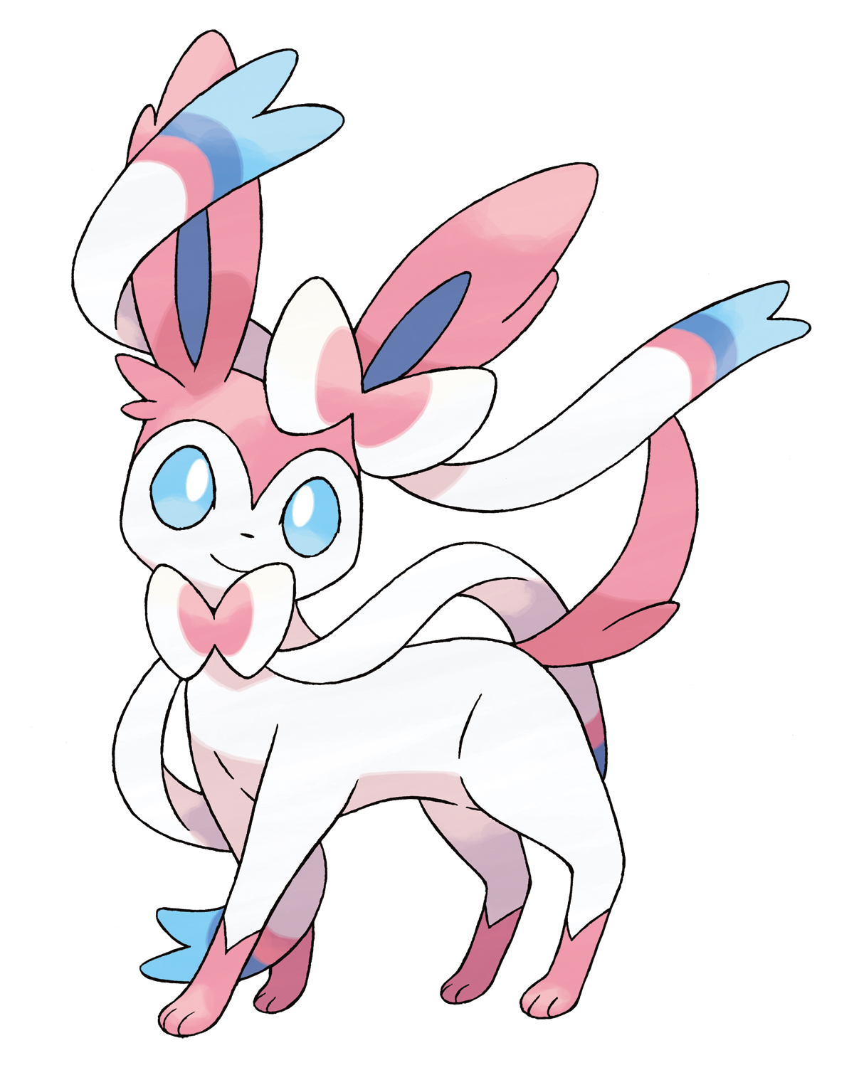 Sylveon, New Eevee Evolution in Pokemon X and Y
