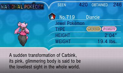 pokemon x how to get diancie