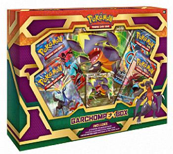 Garchomp-EX Box