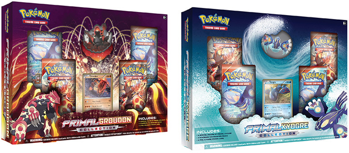 Kyogre Collection / Groudon Collection Images Revealed!