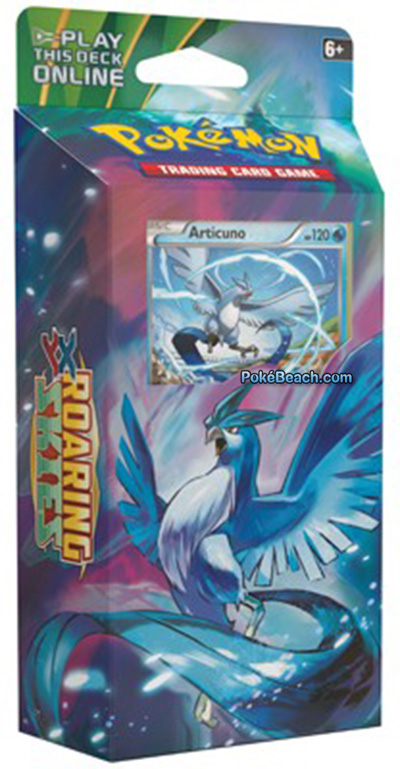 Roaring Skies Pokemon TCG Articuno Theme Deck