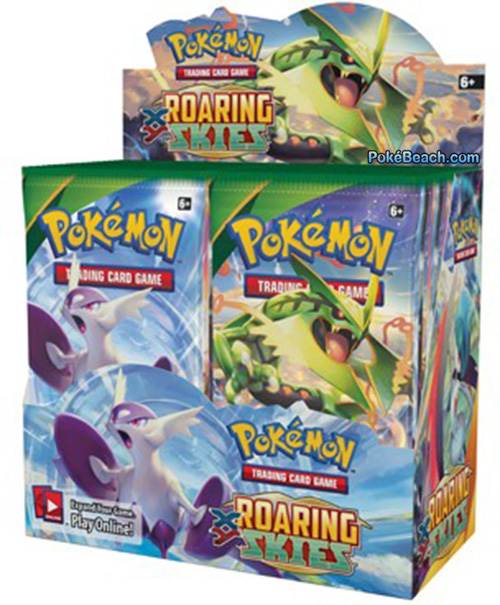 Roaring Skies Pokemon TCG Booster Box
