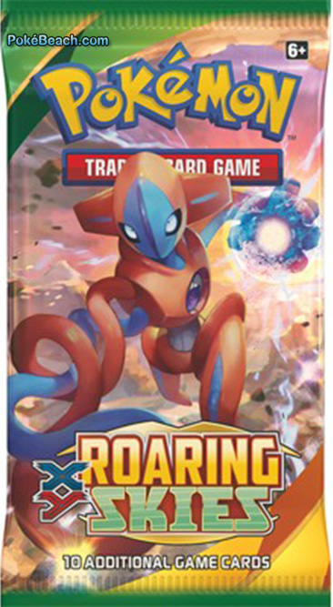 Roaring Skies Pokemon TCG Booster Pack Deoxys