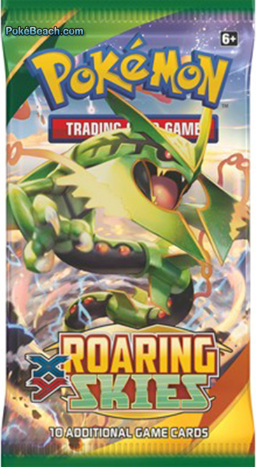 Roaring Skies Pokemon TCG Booster Pack Mega Rayquaza