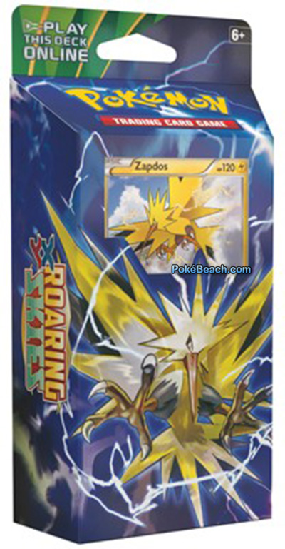 Roaring Skies Pokemon TCG Zapdos Theme Deck