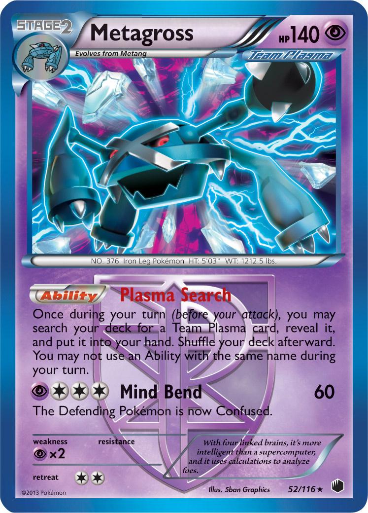 Cartes pokemon noir et blanc plasma freeze nouveaux - Carte pokemon team plasma ...