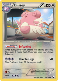 Blissey from Dark Explorers (#82)