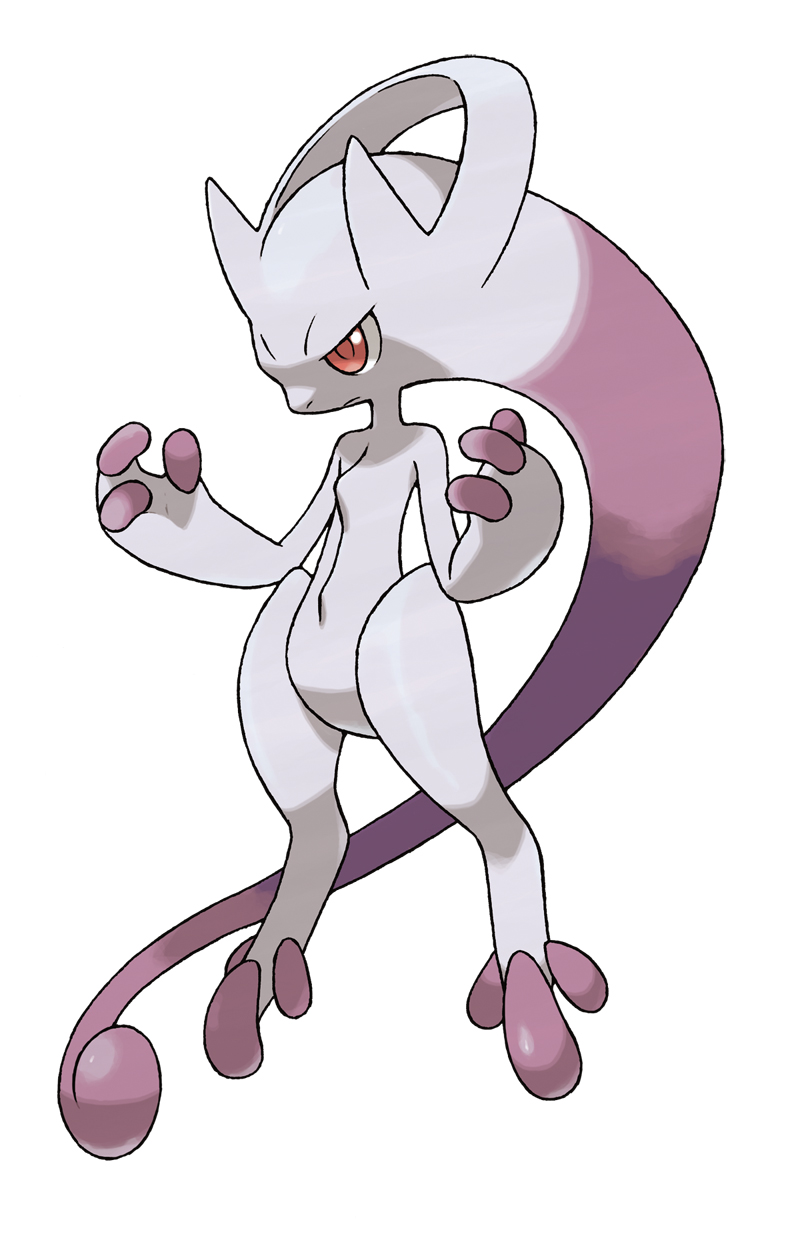 Pokemon Mewthree Mewtwo's New ...