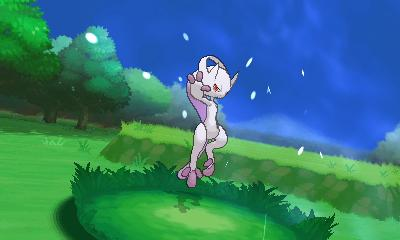New Mewtwo Forme Pokemon X and Pokemon Y