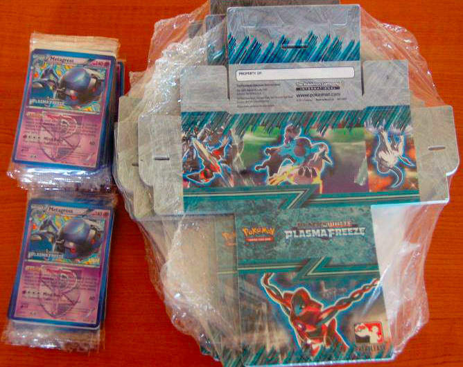 Plasma Freeze Prerelease Promo Metagross and Deck Box