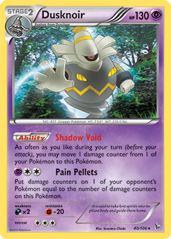 Dusknoir from Flashfire