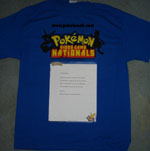 Pokemon Journey Across America Shirts