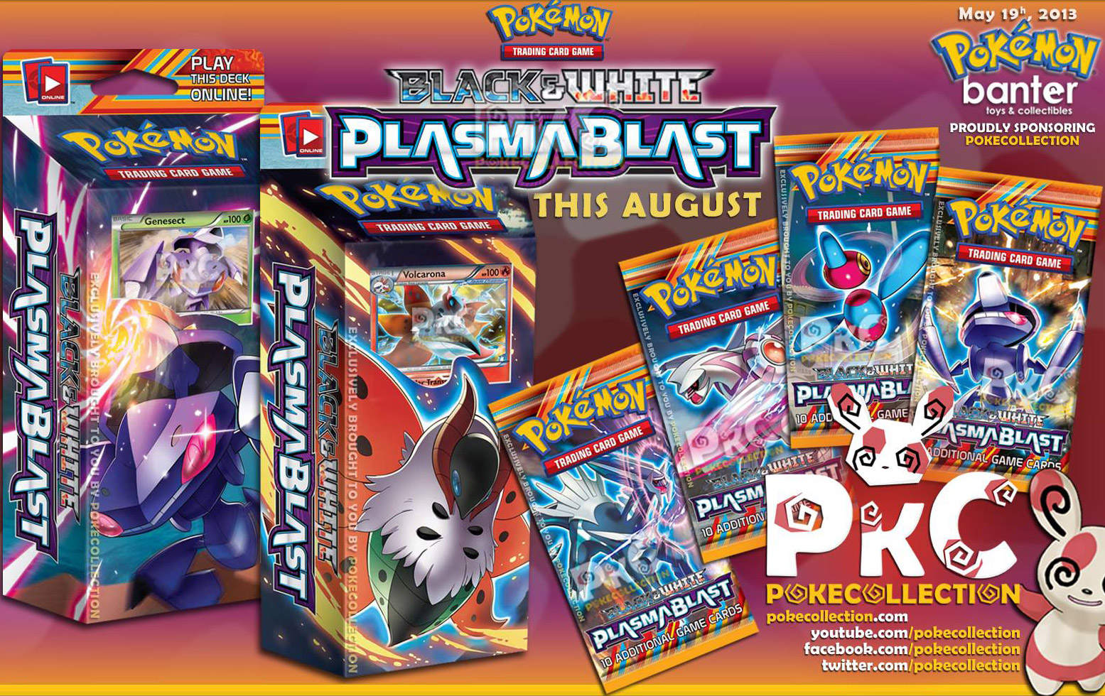 Plasma Blast Booster Packs and Theme Decks