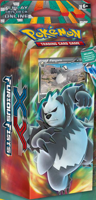 Pangoro Theme Deck from Furious Fists