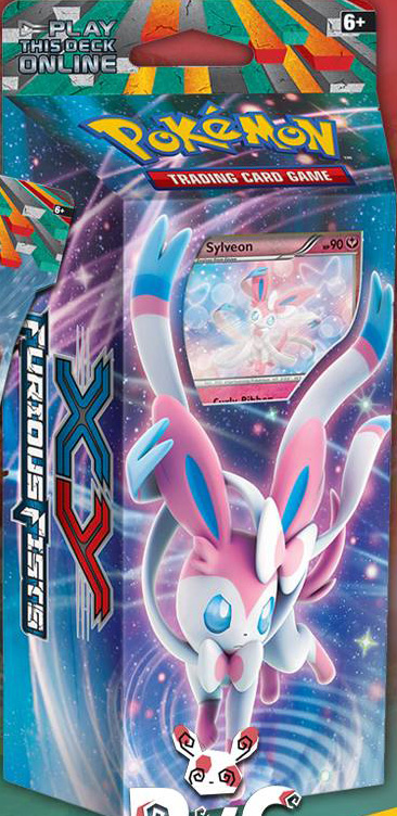 Sylveon Theme Deck from Furious Fists