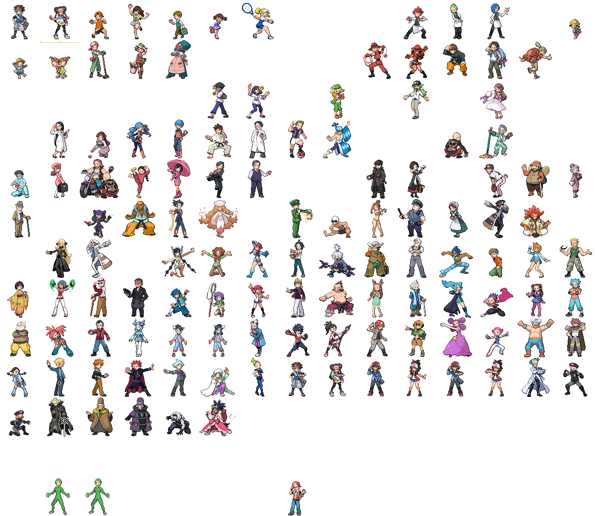 Pokemon Black And White 2 Gym Leaders And Elite Four