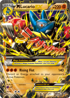M Lucario-EX from Furious Fists