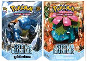 EX Crystal Guardians Decks - Green Cyclone and Storm Surge