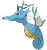 New Kingdra Artwork by Ken Sugimori