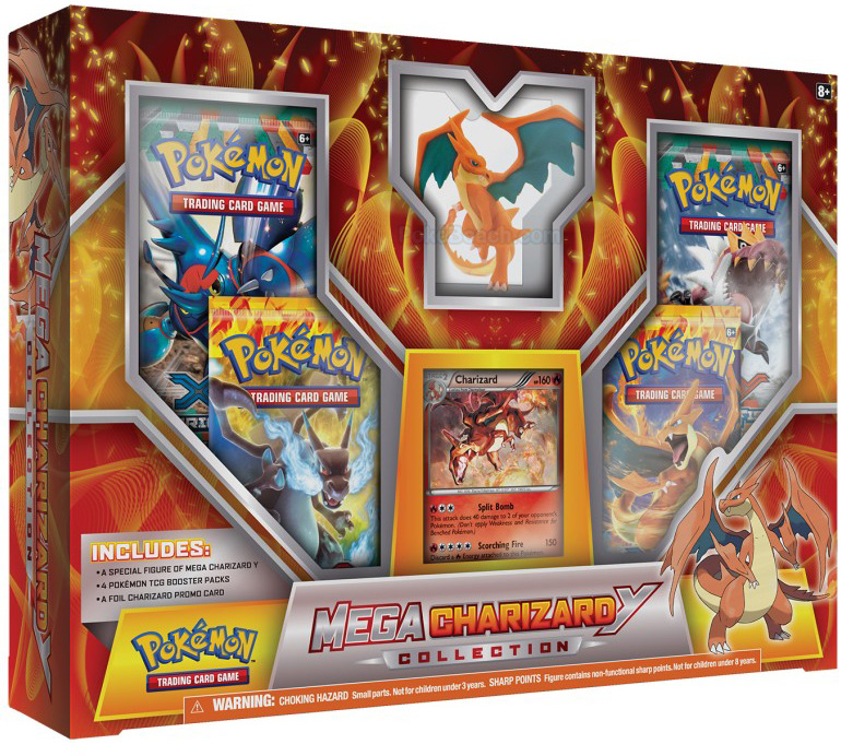 Mega Charizard Collection Y