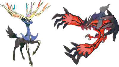 Xerneas and Yveltal