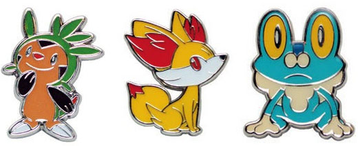 XY Blister Pack Pins
