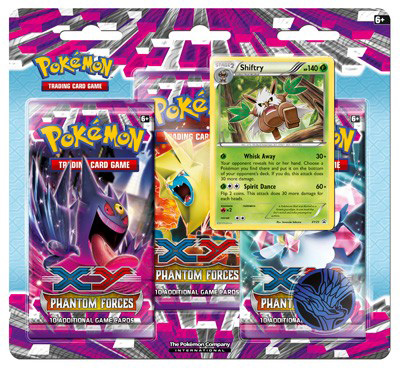 Shiftry Promo from Phantom Forces Blister Pack