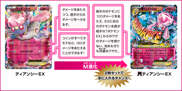 Promos Diancie-EX and M Diancie-EX Revealed