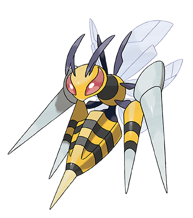 Mega Beedrill in Omega Ruby and Alpha Sapphire