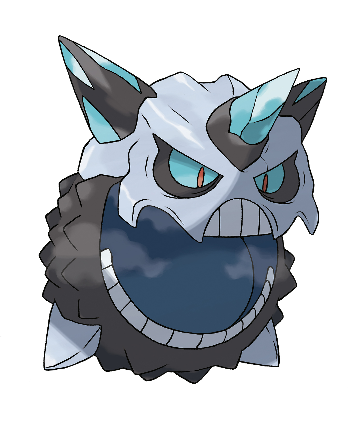Mega Glalie in Omega Ruby and Alpha Sapphire