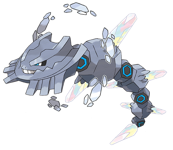 Mega Steelix in Omega Ruby and Alpha Sapphire