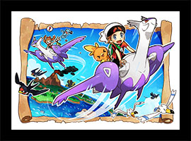 Soar on Mega Latios and Latias in Omega Ruby and Alpha Sapphire
