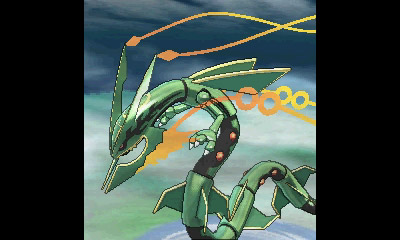 Mega Rayquaza in Omega Ruby and Alpha Sapphire