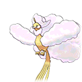 Mega Altaria (Shiny) in Omega Ruby and Alpha Sapphire