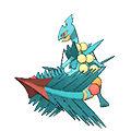 Mega Sceptile (Shiny) in Omega Ruby and Alpha Sapphire