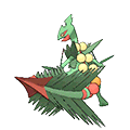 Mega Sceptile in Omega Ruby and Alpha Sapphire
