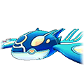 Primal Kyogre in Omega Ruby and Alpha Sapphire