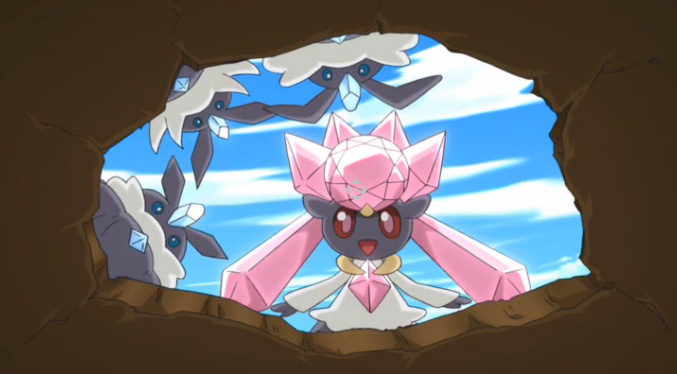 'Diancie, Princess of the Diamond Domain' Short Now Online ...