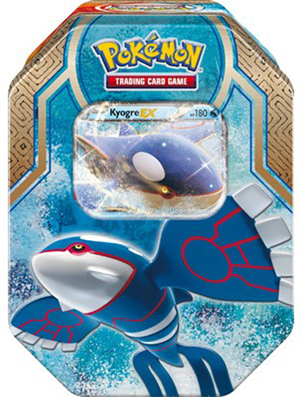 Legends of Hoenn Tins Featuring Kyogre-EX