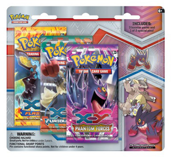 Mega Evolution Collector's Pin 3-Pack