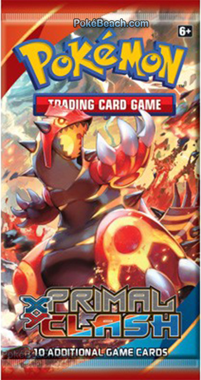Primal Clash Booster Pack Primal Groudon