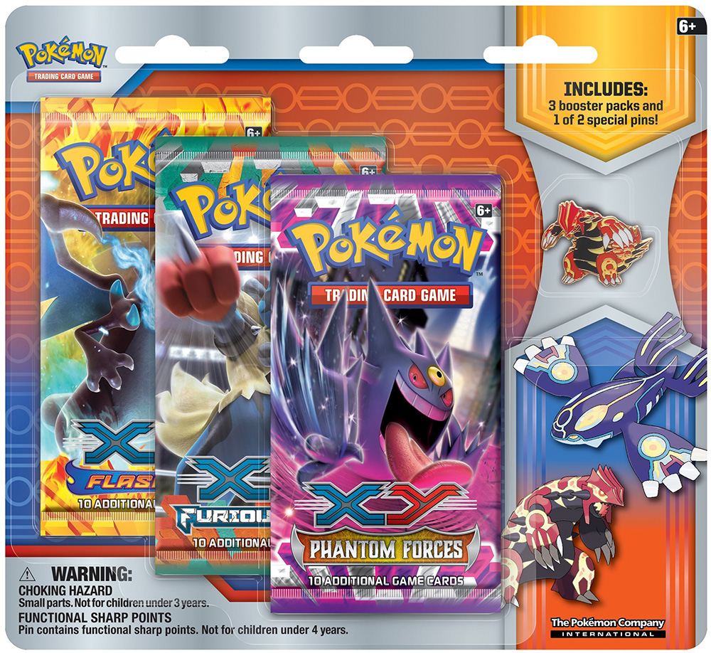 Primal Reversion Collector's Pin 3-Pack