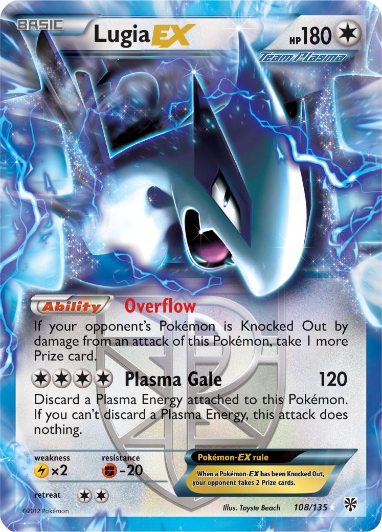 Pin Pokemon Carte Lugia Picture On Pinterest