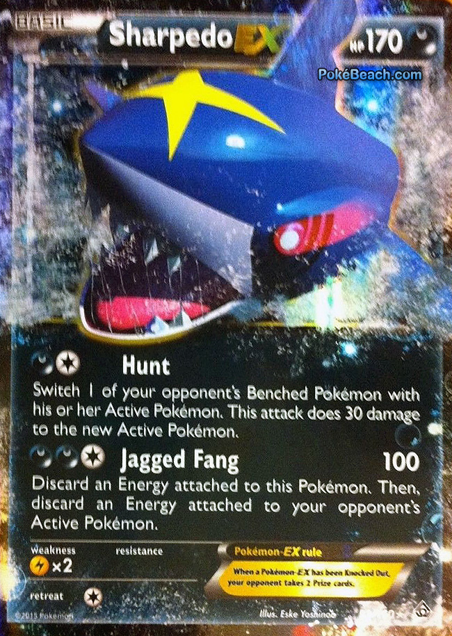 Sharpedo-EX from Primal Clash